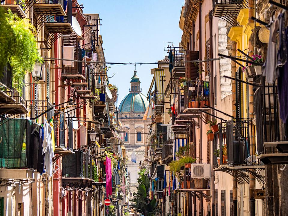 Bustling Palermo - getty