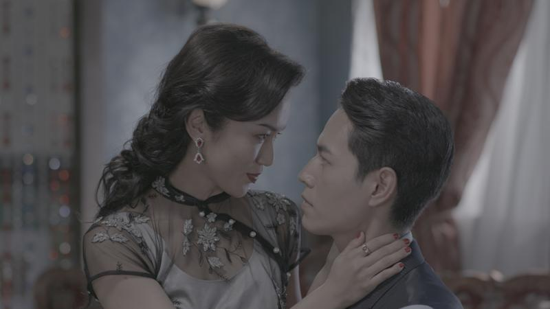 "Joanne Peh and Jeff Chou in Mediacorp's M18 drama series ""The Last Madame"". (Photo: Mediacorp)"