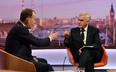 McDonnell - Credit: BBC/Getty