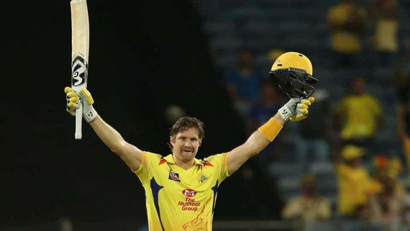 Shane Watson scored a century against Rajasthan Royals in Pune.