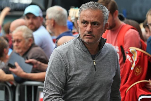 Jose Mourinho is cool under pressure, says Manchester United's Nemanja Matic (AFP Photo/Lindsey PARNABY)