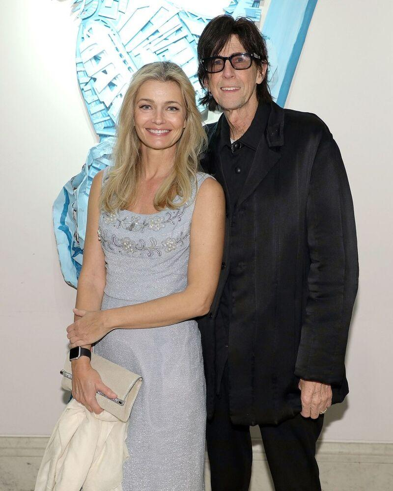 Paulina Porizkova and Ric Ocasek | Taylor Hill/Getty Images
