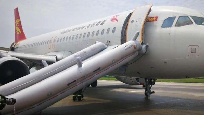 Wheels missing on plane after another emergency landing for Chinese budget carrier Capital Airlines