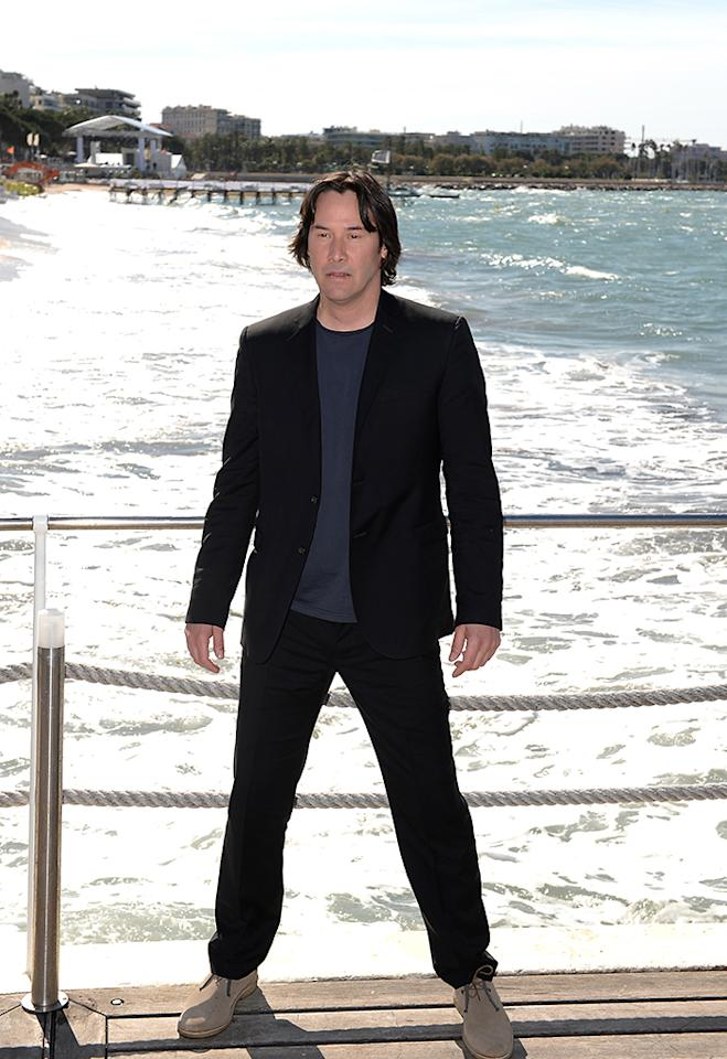 CANNES, FRANCE - MAY 20: Director and actor Keanu Reeves attends the photocall for 'The Man of Tai Chi' at The 66th Annual Cannes Film Festival on May 20, 2013 in Cannes, France. (Photo by Samir Hussein/Getty Images)
