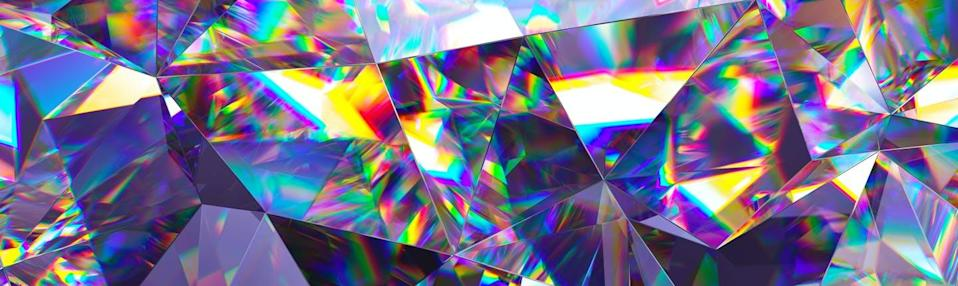 """<span class=""""attribution""""><a class=""""link rapid-noclick-resp"""" href=""""https://www.shutterstock.com/es/image-illustration/3d-render-abstract-crystal-background-iridescent-1033687543"""" rel=""""nofollow noopener"""" target=""""_blank"""" data-ylk=""""slk:Shutterstock / wacomka"""">Shutterstock / wacomka</a></span>"""
