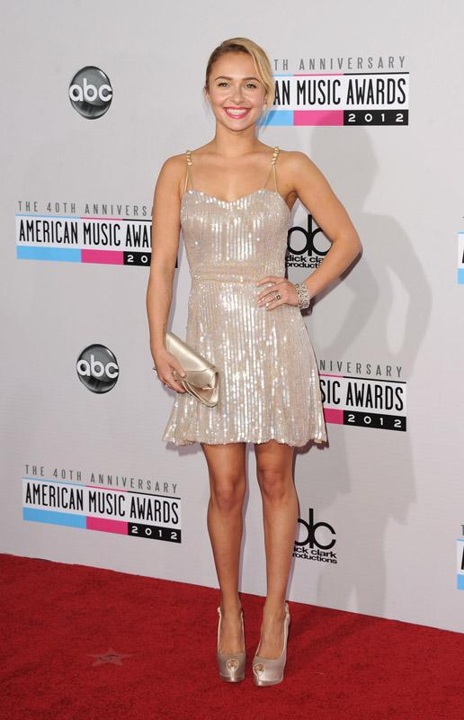 Hayden Panettiere 40th Annual American Music Awards Los Angeles, CA