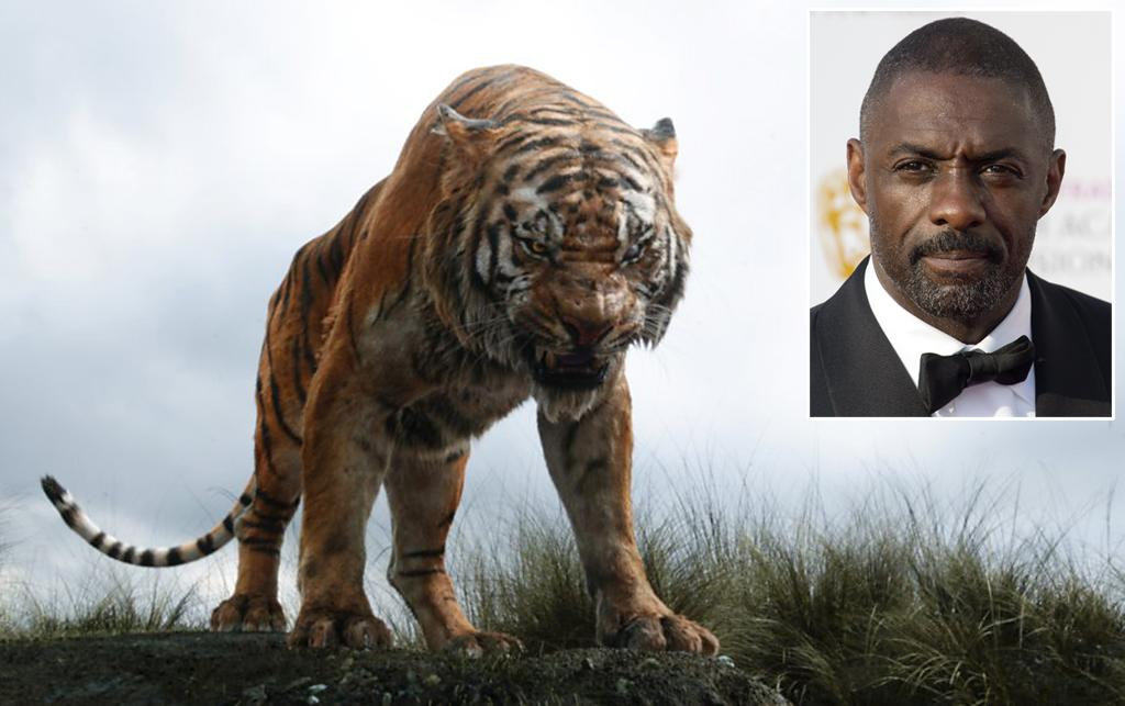 """<p><a rel=""""nofollow"""" href=""""https://www.youtube.com/watch?v=YXjviLBYrS8"""">In Disney's original animated telling</a> of 'The Jungle Book,' talking tiger Shere Khan came across as a more refined, almost debonair, threat to man-cub Mowgli. Not so Elba's big cat, who speaks in a low, menacing growl that seems to rumble up and down the length of his slinky feline body. That voice becomes an extension of Shere Khan's predatory nature; when he stops speaking, you know blood is about to be shed. (Photo: Disney/Getty) </p>"""