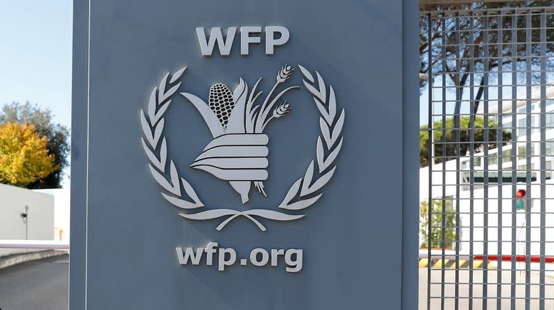 U.N. food agency WFP hails Peace Nobel as call to action against hunger