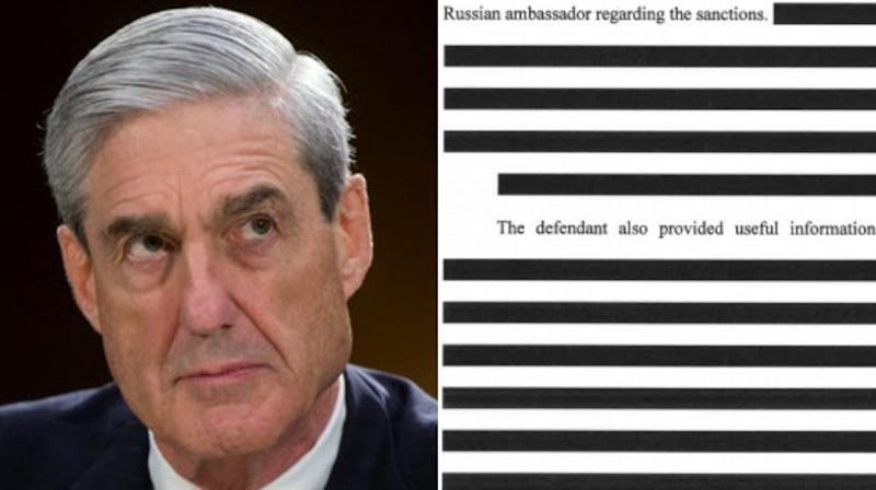 Twitter Users Hilariously Fill In The Blanks In Heavily Redacted Mueller Docs