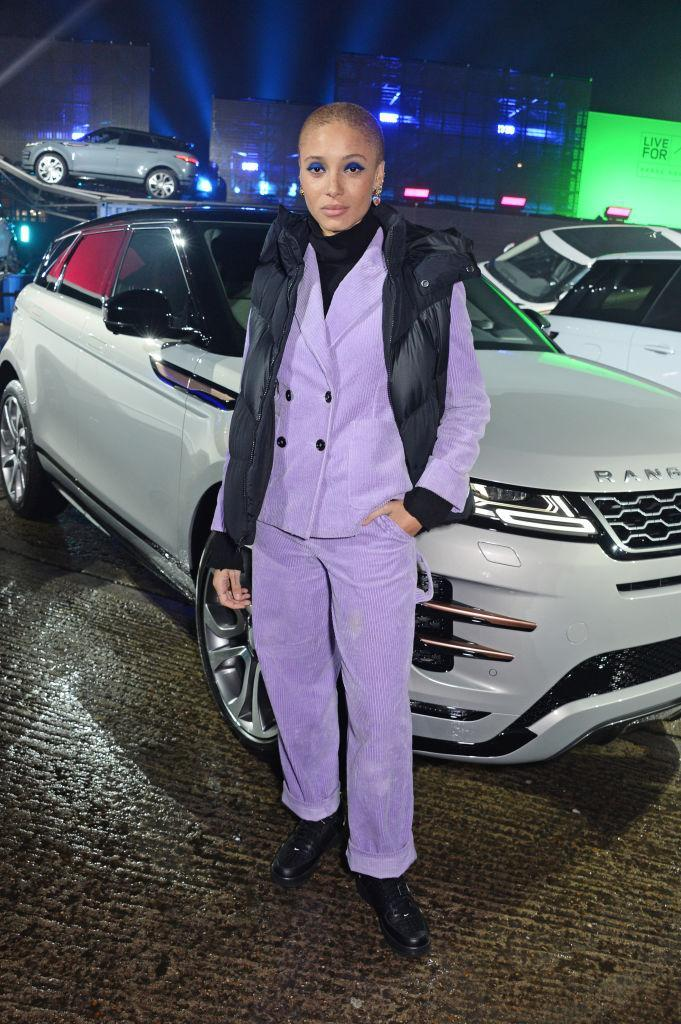 <p>On November 22, model Adwoa Aboah attended the Range Rover Evoque World Premiere in a seriously covetable co-ord. <em>[Photo: Getty]</em> </p>
