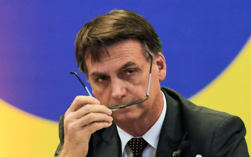 Jair Bolsonar, the president-elect, said Brazil would offer asylum to Cuban doctors who wished to stay in Brazil - AFP