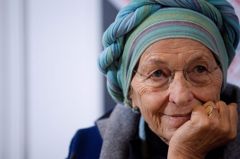 Italian senator Emma Bonino looks on during a press conference with Hatice Cengiz (not pictured), Turkish fiancee of murdered Saudi journalist and dissident Jamal Khashoggi, on December 17, 2019 at the Foreign Press Association in Rome. - Khashoggi, a Washington Post contributor and US resident, was killed in October 2018 by Saudi agents while at Saudi Arabia's consulate in Istanbul to obtain paperwork ahead of his wedding to Hatice Cengiz. (Photo by Tiziana FABI / AFP) (Photo by TIZIANA FABI/AFP via Getty Images) (Photo: TIZIANA FABI via Getty Images)