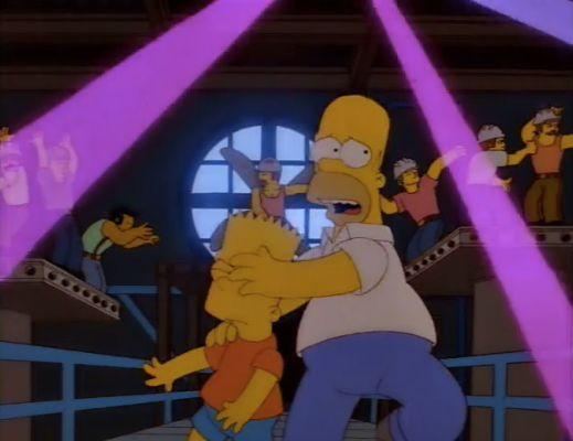 """In one of the Simpsons patriarch's more unpleasant moments, Homer's Phobia shows him struggling to get to grips with the fact his new friend, voiced by John Waters, is gay.<br /><br />Later in the episode, in yet more uncomfortable scenes, Homer worries that John is having a negative influence on Bart, though he later learns to accept him (in the final scene, that is).<br /><br />While gay magazine The Advocate gave it a positive review at the time, years later it is looked on slightly less favourably, with one reviewer claiming it """"leaves a bad taste in the mouth""""."""