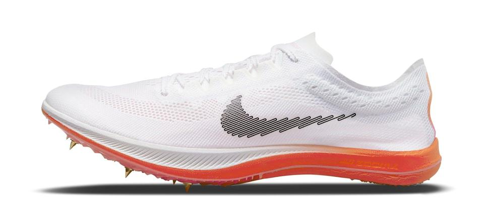 """The lateral side of the Nike ZoomX Dragonfly """"Rawdacious."""" - Credit: Courtesy of Nike"""