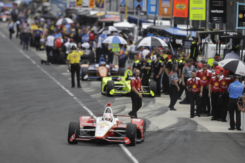 How Many Laps In Indy 500 >> The Latest Pigot Turns Fastest Lap In Indy Qualifying