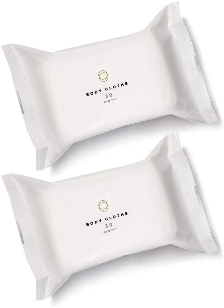 <p>The <span>Cora Body Cloths</span> ($16 for two packs of 30 wipes) can be used anywhere - between your toes, under your arms, and even on skin in the external genital areas. However, remember that the vagina itself doesn't need any help in the cleansing department. These 100 percent bamboo wipes are infused with coconut oil, aloe vera, chamomile water, and red-raspberry leaf extract. The wipes in these pouches are naturally scented with lavender essential oil, but an unscented option is available on the brand's website as well.</p>