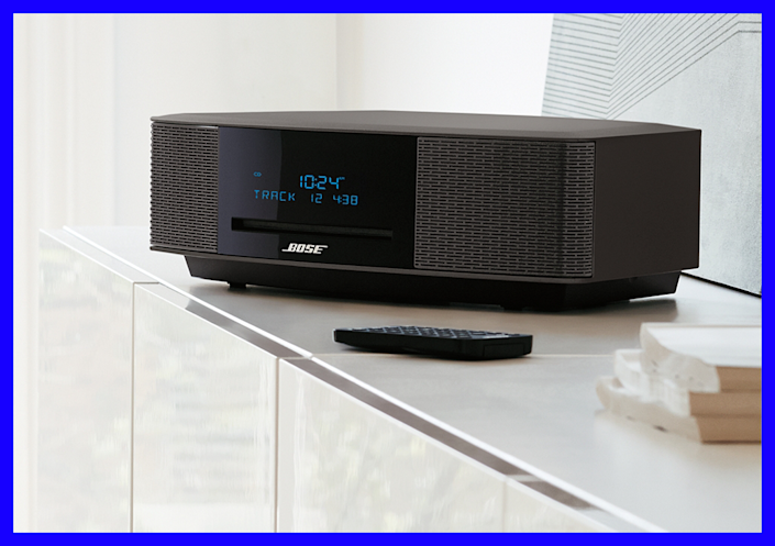 As pretty as it is powerful, the Bose Wave delivers sound like a much bigger component.  (Photo: Bose)