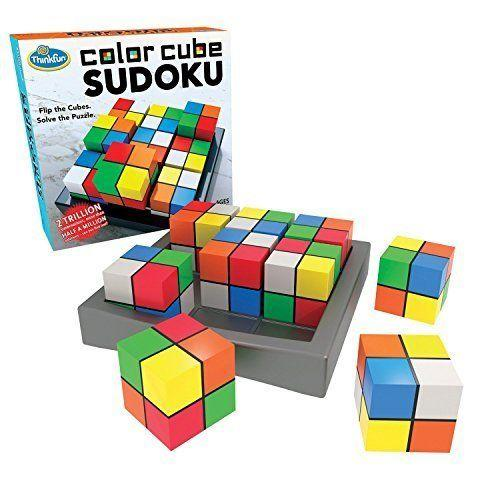 """<a href=""""https://www.amazon.com/Think-Fun-1560-Color-Sudoku/dp/B01N9U3IRR"""" target=""""_blank"""">Sodoku</a> is quite challenging, but this game is all about perseverance, even when the going gets tough."""