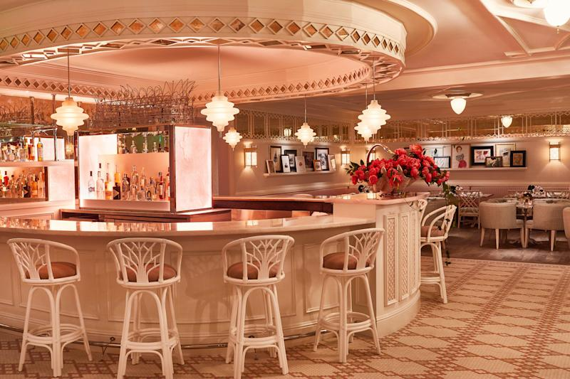 Owned by Pharrell Williams and hospitality mogul David Grutman, Swan was designed by Ken Fulk.
