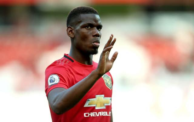 Manchester United midfielder Paul Pogba is regularly in the news (Nigel French/PA)