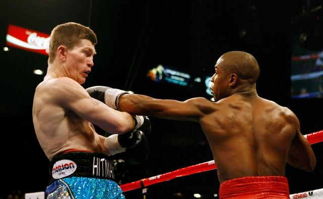 Hatton lost to Mayweather via a 10th-round stoppage