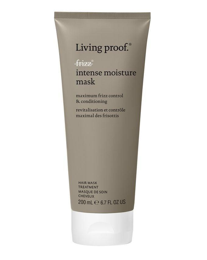 """<p>Curls will bounce back to life after using the <span>Living Proof No Frizz Intense Moisture Mask</span> ($38) once a week. This mask contains zero silicones and instead uses Living Proof's """"healthy hair molecule,"""" which protects each strand by forming a lightweight coating without weighing it down as traditional silicones might. The addition of shea butter in the formula means hair has reduced frizz with maximum moisture in just five minutes.</p>"""