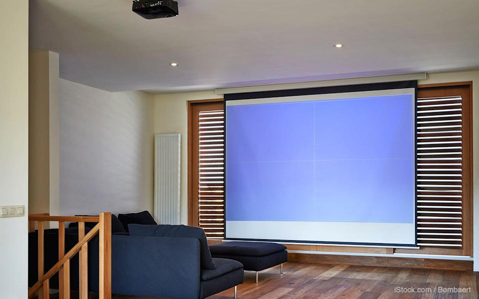 in-house theater