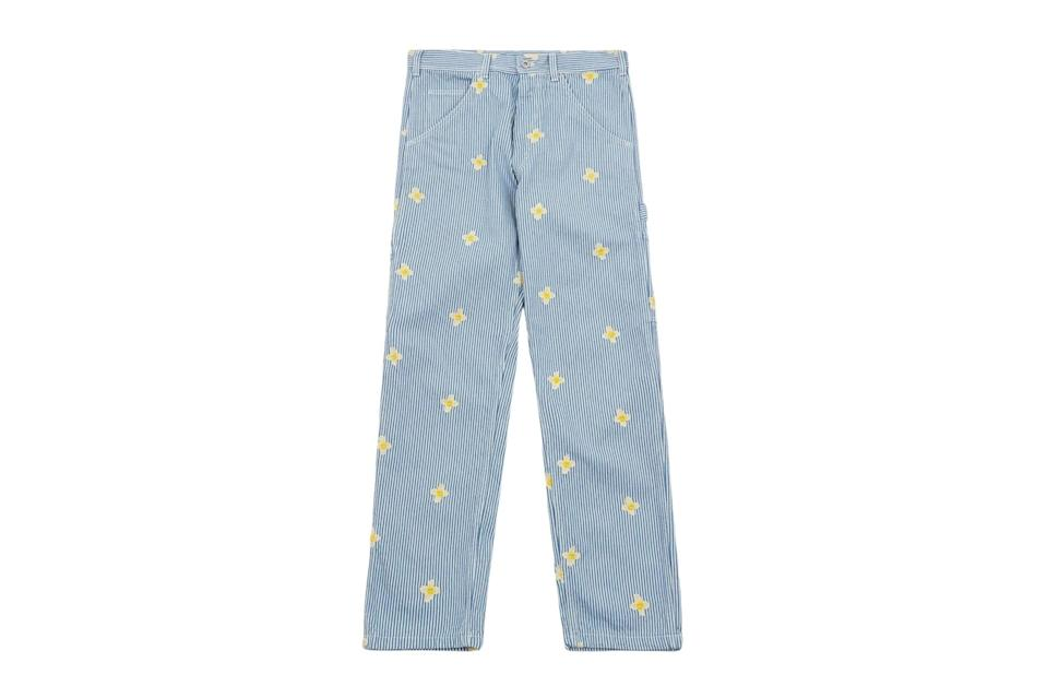"""$150, Goodhood. <a href=""""https://us.goodhoodstore.com/products/stan-ray-og-painter-pant-daisy-hickory-mens-ss21"""" rel=""""nofollow noopener"""" target=""""_blank"""" data-ylk=""""slk:Get it now!"""" class=""""link rapid-noclick-resp"""">Get it now!</a>"""