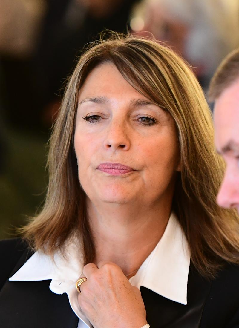 Dame Carolyn McCall spoke to MPs as part of an inquiry. (AFP PHOTO / EMMANUEL DUNAND via Getty Images)