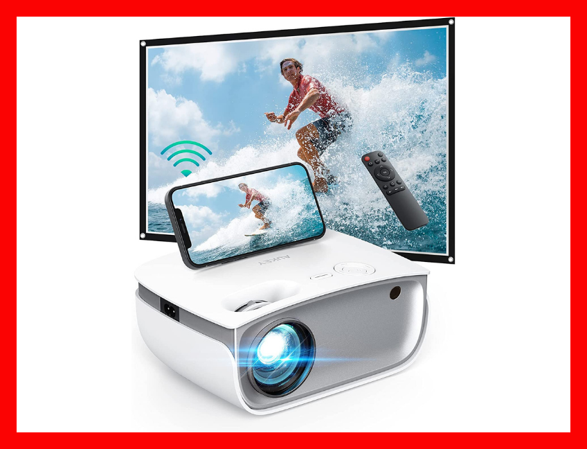 Surf's up for this, the hands-down best digital projector for Fire TV Stick, Roku or Chromecast users. (Photo: Amazon)