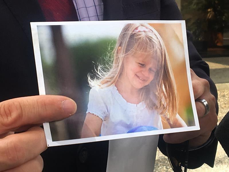 Father says murder of daughter, 8, has shattered her brothers' innocence