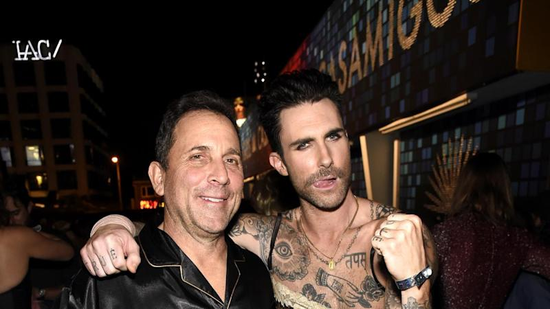 The Maroon 5 frontman showed his feminine side at the annual Casamigos Halloween party.