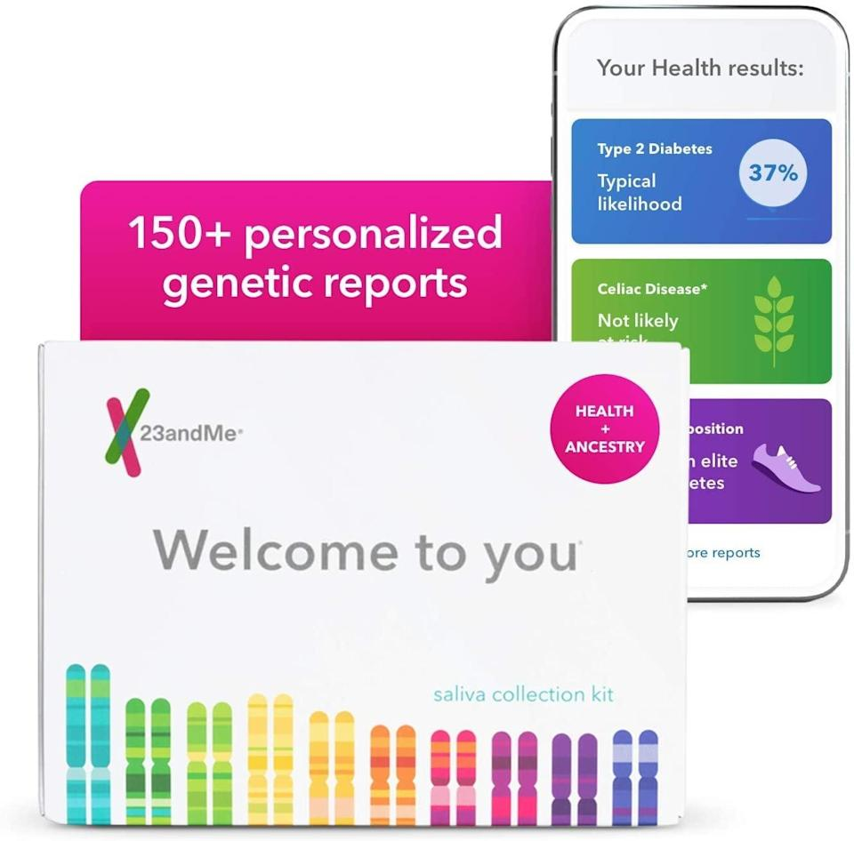 <p><span>23andMe Health + Ancestry Service: Personal Genetic DNA Test</span> ($99, originally $199)</p>