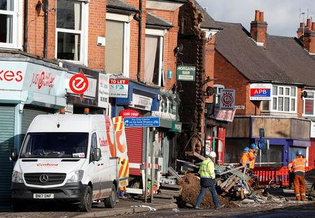 Man from North West arrested over fatal explosion in Leicester