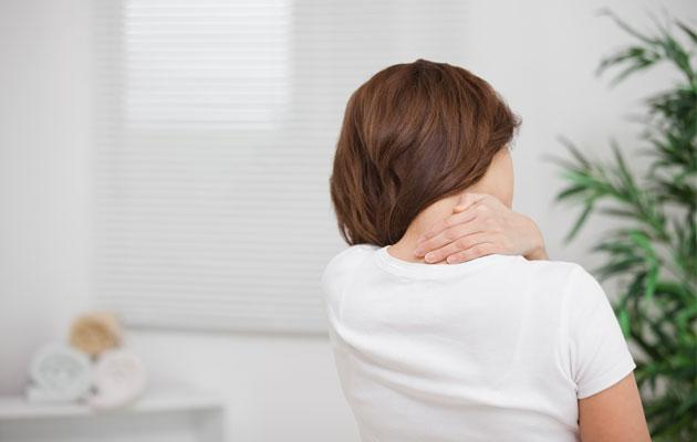 Persistent neck and back pains indicate you could be suffering from a slipped disc. (Thinkstock photo)