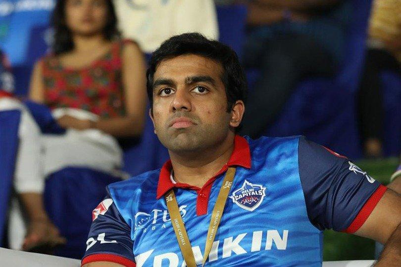 Co-owner of Delhi Capitals Parth Jindal (Photo- DC Twitter)