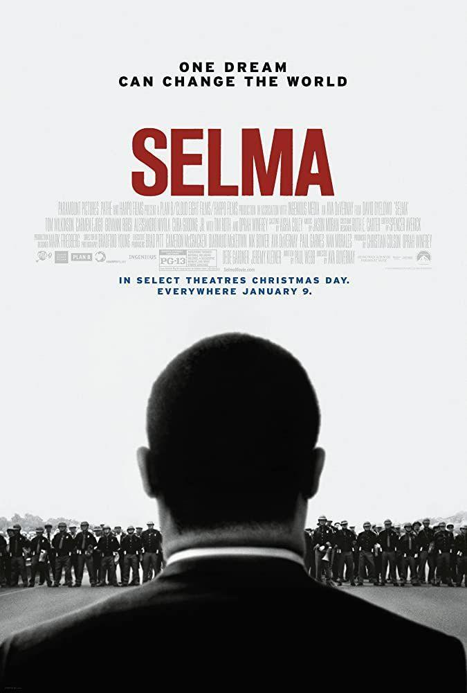 """<p>In 1965, demonstrators marched three times from Selma, Alabama to Montgomery to exercise their right to vote, led in part by Dr. Martin Luther King Jr. The movie is a powerful and strong testament to the protests against racial injustice.</p><p><a class=""""link rapid-noclick-resp"""" href=""""https://www.amazon.com/Selma-David-Oyelowo/dp/B00S0X4HK8?tag=syn-yahoo-20&ascsubtag=%5Bartid%7C2140.g.27486022%5Bsrc%7Cyahoo-us"""" rel=""""nofollow noopener"""" target=""""_blank"""" data-ylk=""""slk:Watch Here"""">Watch Here</a></p>"""