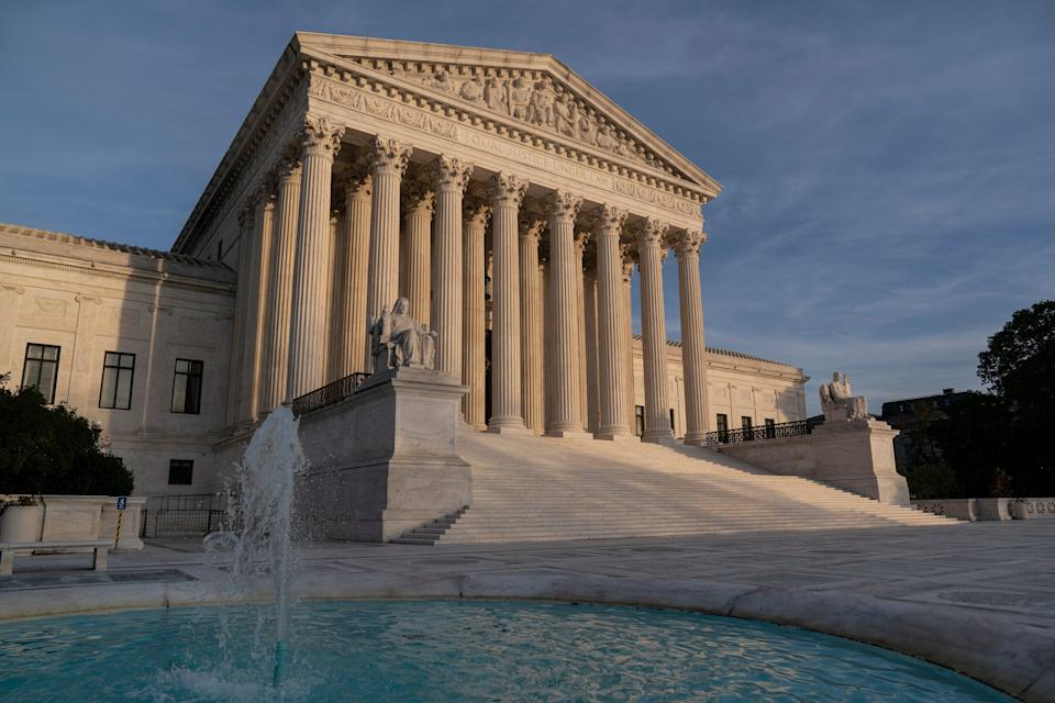 The Supreme Court is hearing a case on warrantless searches by police.