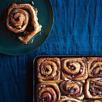 "<p>Delicata squash is a great choice for dessert recipes. Roasting it intensifies the sweet flavor.</p> <p><a href=""https://www.myrecipes.com/recipe/spiced-cinnamon-rolls-maple"">Spiced Cinnamon Rolls with Maple Glaze Recipe</a></p>"