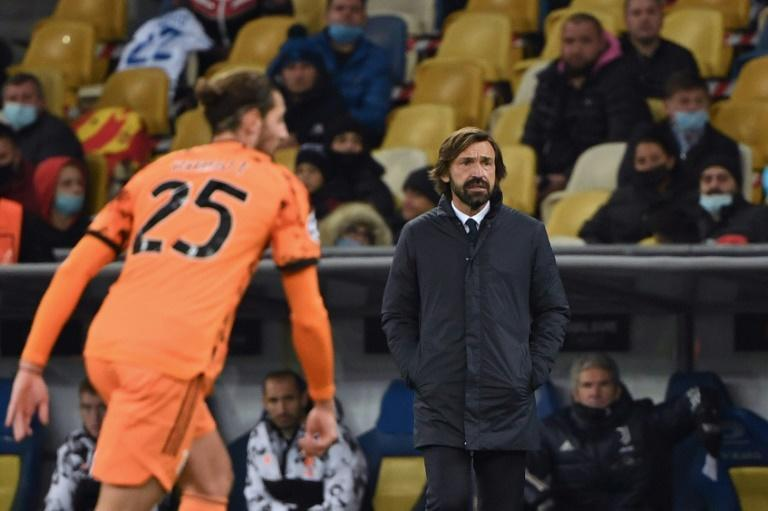 Juventus manager Andrea Pirlo won his first Champions League match as a coach