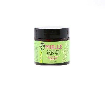 """<p><strong>Mielle Organics</strong></p><p>target.com</p><p><strong>$6.99</strong></p><p><a href=""""https://www.target.com/p/mielle-rosemary-mint-strengthening-edge-gel-2oz/-/A-75566093"""" rel=""""nofollow noopener"""" target=""""_blank"""" data-ylk=""""slk:Shop Now"""" class=""""link rapid-noclick-resp"""">Shop Now</a></p><p>Whether you're styling baby hairs or reducing hair line frizz, this gel keeps edges locked in place all day long. It doesn't flake or make hair stiff, but adds gorgeous shine to the hair. It's even infused with biotin to help promote healthy hair growth. Because, TBH, breakage is real. </p>"""