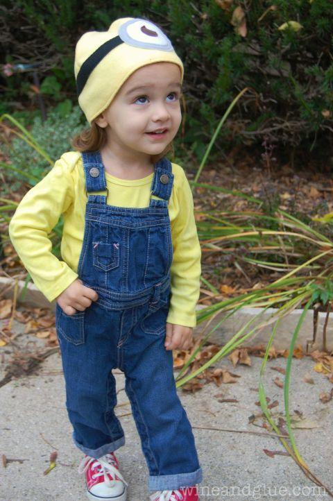 """<p>We found the perfect costume for your little minion.</p><p><strong>Get the tutorial at <a href=""""http://www.wineandglue.com/2013/10/minion-costume-with-easy-minion-hat.html"""" rel=""""nofollow noopener"""" target=""""_blank"""" data-ylk=""""slk:Wine and Glue"""" class=""""link rapid-noclick-resp"""">Wine and Glue</a>. </strong></p><p><strong><a class=""""link rapid-noclick-resp"""" href=""""https://www.amazon.com/Newcastle-Fabrics-Fleece-Bright-Yellow/dp/B01CUK7HNA/?tag=syn-yahoo-20&ascsubtag=%5Bartid%7C10050.g.4975%5Bsrc%7Cyahoo-us"""" rel=""""nofollow noopener"""" target=""""_blank"""" data-ylk=""""slk:SHOP YELLOW FLEECE"""">SHOP YELLOW FLEECE</a></strong></p>"""