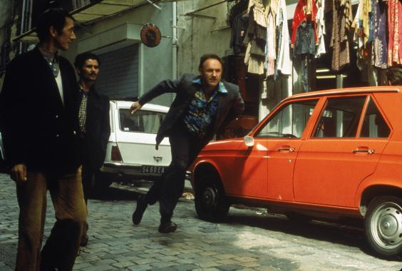 Gene Hackman as Popeye Doyle in the 1975 sequel 'French Connection II' (Sky)