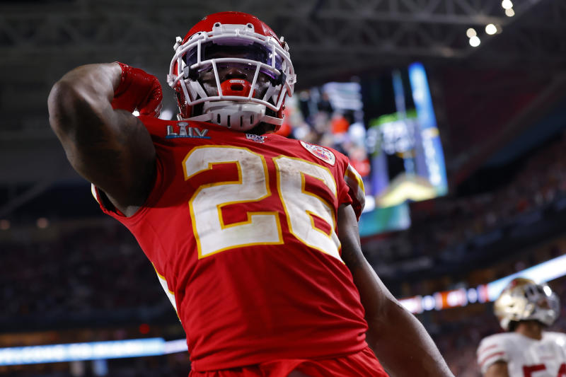Damien Williams was a star on Super Bowl Sunday for the Kansas City Chiefs, but his . gesture after the game meant just as much. (Photo by Kevin C. Cox/Getty Images)