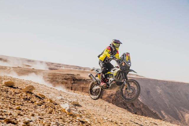 "#19 SLOAVNFT Rally Team KTM: Stefan Svitko <span class=""copyright"">Red Bull Content Pool</span>"
