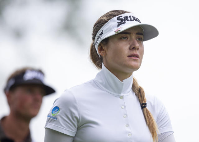 Hannah Green, of Australia, walks on the fourth hole during the final round of the KPMG Women's PGA Championship golf tournament, Sunday, June 23, 2019, in Chaska, Minn. (AP Photo/Andy Clayton-King)