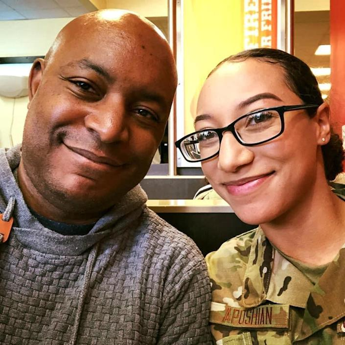 Aposhian, 21, was shot and killed by another airman at Grand Forks Air Force Base, N.D., on June 1, just two months after arriving at the base.