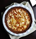"""<p>A sweet potato pie gets some groovy-looking marbIing thanks to a few swirls of a ginger-spiced cream cheese-yogurt-powdered sugar mixture. A bit of the yogurt lightens the filling, too. <a href=""""https://www.yahoo.com/food/marbled-sweet-potato-and-cream-cheese-pie-recipe-111574094741.html"""" data-ylk=""""slk:Here's how to make Marbled Sweet Potato Pie.;outcm:mb_qualified_link;_E:mb_qualified_link;ct:story;"""" class=""""link rapid-noclick-resp yahoo-link""""><b>Here's how to make Marbled Sweet Potato Pie</b>.</a> (<i>Photo: Christine Arel)</i></p>"""