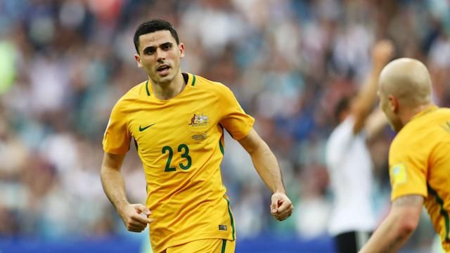 Tom Rogic was in no mood to take plaudits for his goalscoring display against Germany after Australia went down to a 3-2 defeat in Sochi.