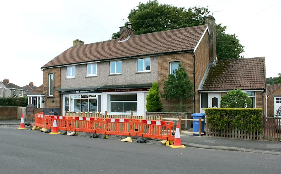 One customer said 'The chip shop has been there for years, whoever bought the house next door must have known that' (swns)